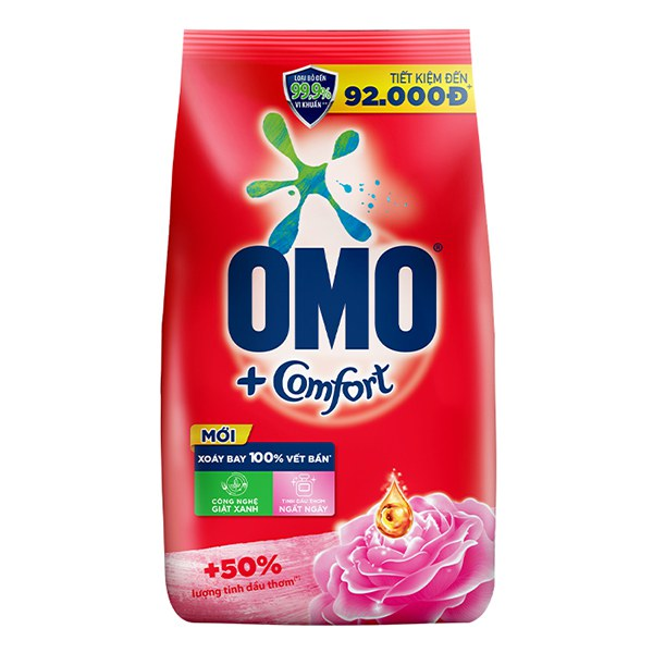 Bột Giặt Omo Comfort Tinh Dầu Thơm Ngất Ngây 5.5Kg