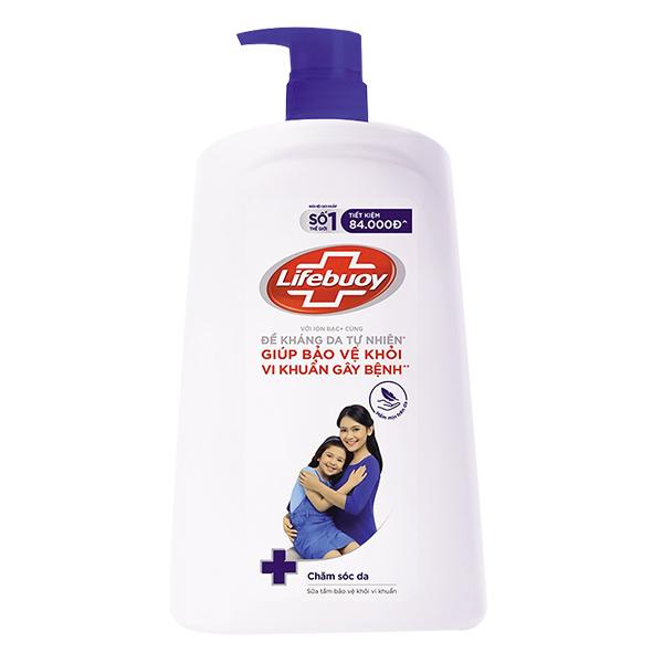 Sữa Tắm Lifebuoy Chăm Sóc Da Chai 1.1Kg