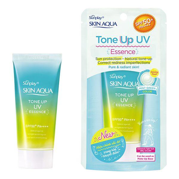 Tinh Chất Chống Nắng Sunplay Skin Aqua Mint Green SPF 50+ Pa++++ Tuýp 50G