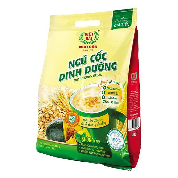 Ngũ Cốc Dinh Dưỡng Việt Đài Gói 500G