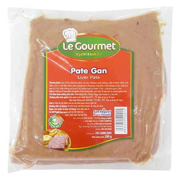 Pate Gan Le Gourmet 200G