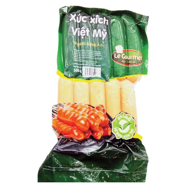 Xúc Xích Le Gourmet Việt Mỹ 500G