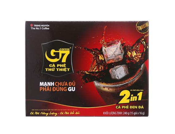 Cà Phê G7 2in1 Hộp 15Gói*16G