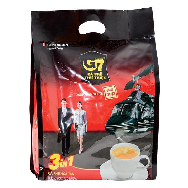 Cà Phê G7 3IN1 Bịch 50 Gói*16G