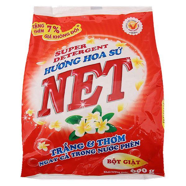 Bột Giặt Net Hương Hoa Sứ Bịch 600G