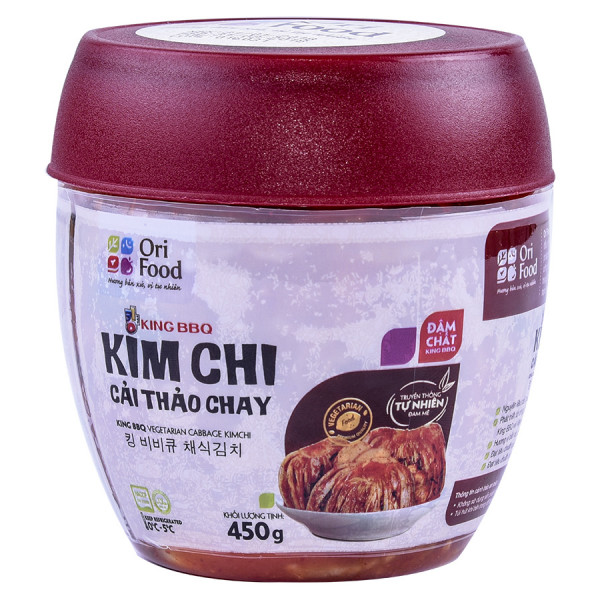 Kim Chi Cải Thảo Chay King BBQ 450G