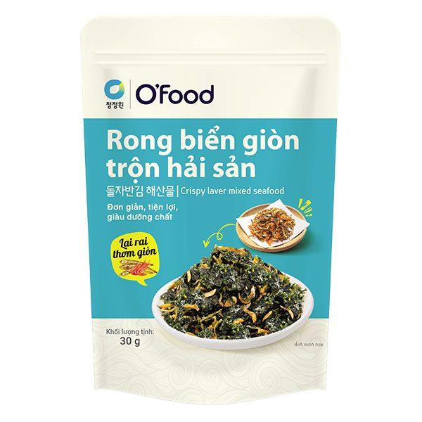 Rong Biển Giòn Trộn Hải Sản O'food Gói 30G
