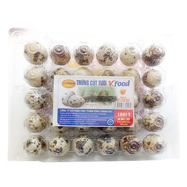 Hộp 30 Trứng Cút Vfood