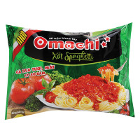 Mì Omachi Sốt Spaghetti Bò Bằm 91G
