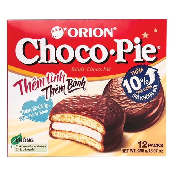 Bánh Choco Pie Hộp 12 Gói 396G