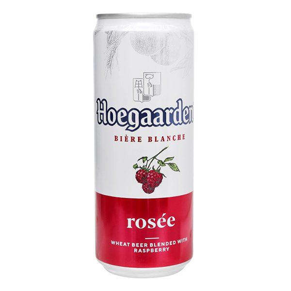 Bia Hoegaarden Rosee Lon 330Ml