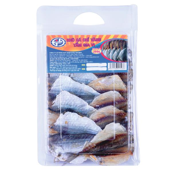 Khô Cá Chỉ Vàng Tẩm Gia Vị Gia Định 200G