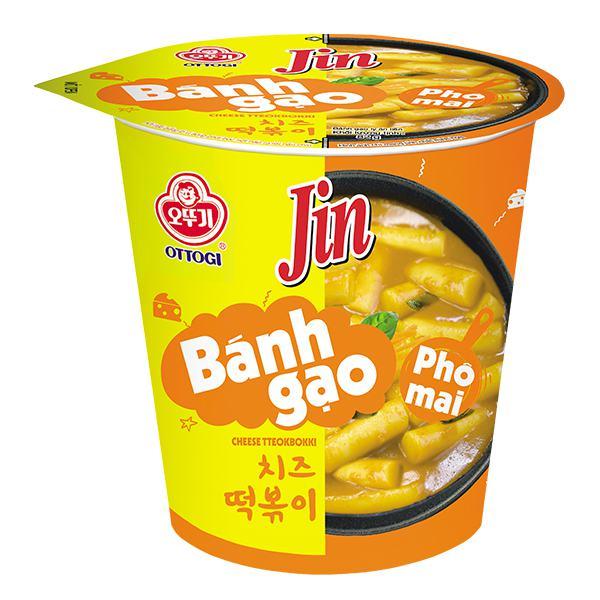 Bánh Gạo Ottogi Jin Vị Phô Mai Ly 82G