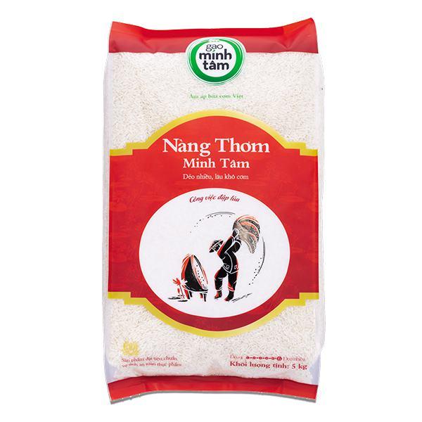 Gạo Nàng Thơm Minh Tâm 5Kg