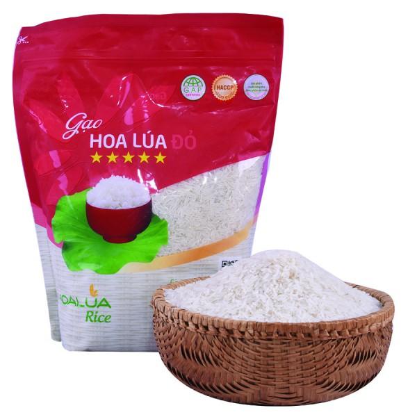 Gạo Hoa Lúa Đỏ 5Kg