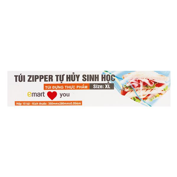 Túi Zipper Emart Size XL