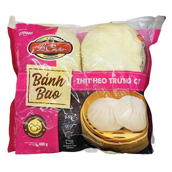 Bánh Bao La Cusina Thịt Heo Trứng Cút Gói 400G