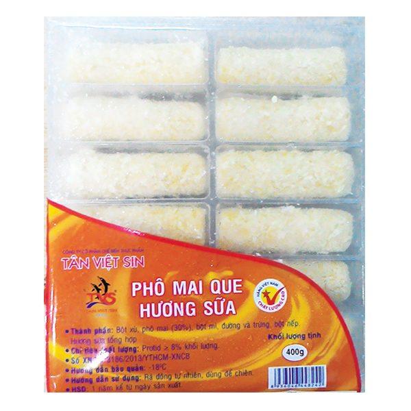 Phô Mai Que Tân Việt Sin Hương Sữa Gói 400G