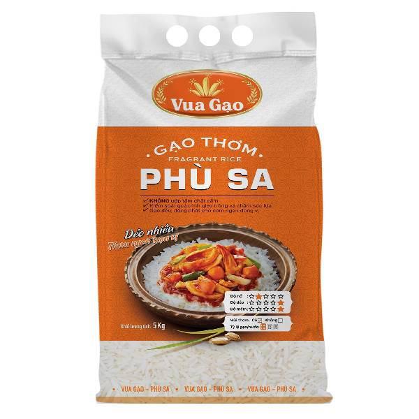 Gạo Phù Sa Vua Gạo 5Kg