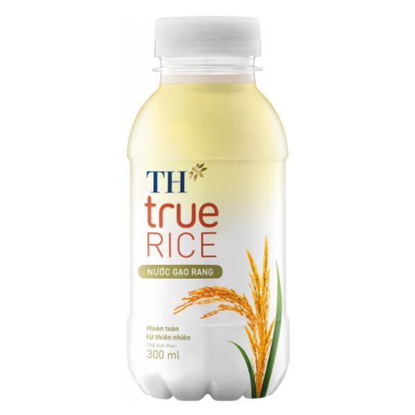 Nước Gạo Rang TH True Rice Chai 300Ml