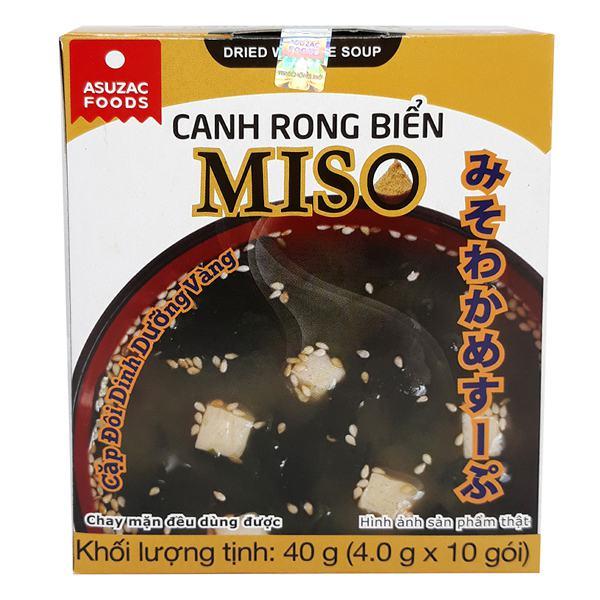 Canh Rong Biển Miso Asuzac Hộp 10Gói*4G