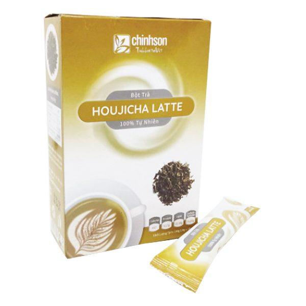 Trà Sữa Chính Sơn Houjicha Latte Hộp 10 Gói*18G