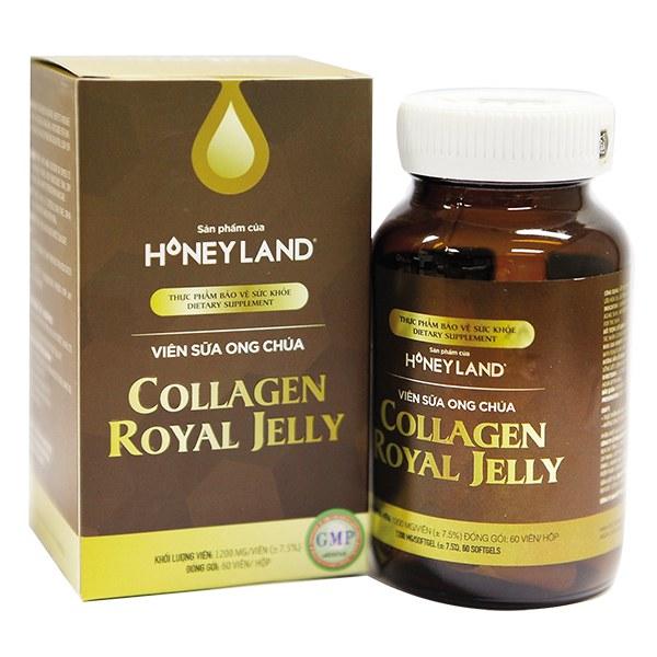 Viên Uống Sữa Ong Chúa Honey Land Collagen Royal Jelly 150 Viên
