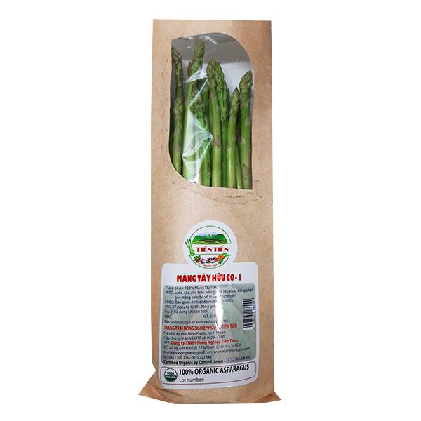 Măng Tây Phan Rang Organic Loại 1 Gói 250G