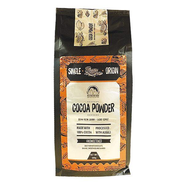 Bột Cacao Nguyên Chất Red Tractor 100% Không Đường Túi 500G