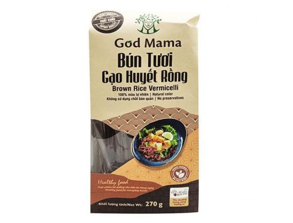 Bún Tươi God Mama Gạo Huyết Rồng 270G