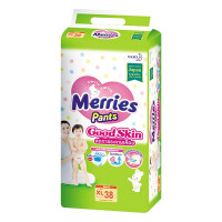 Tã Quần Merries Goodskin XL38