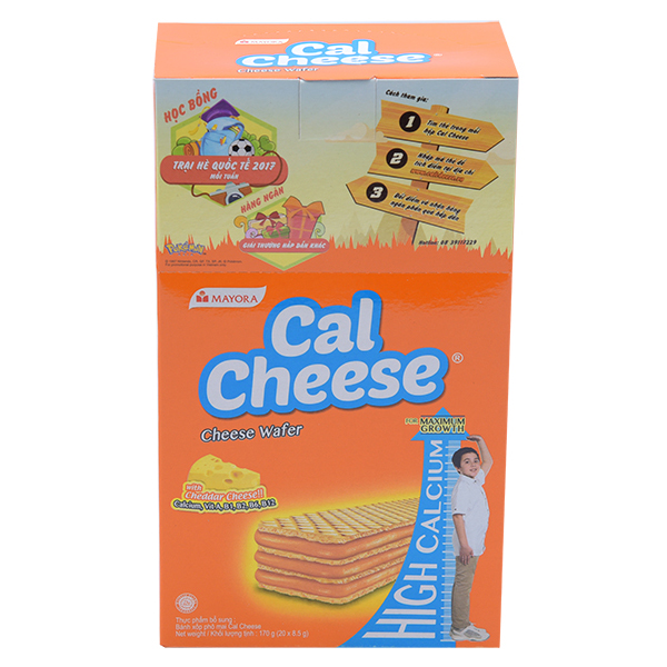 Bánh Cal Cheese 20*8.5G