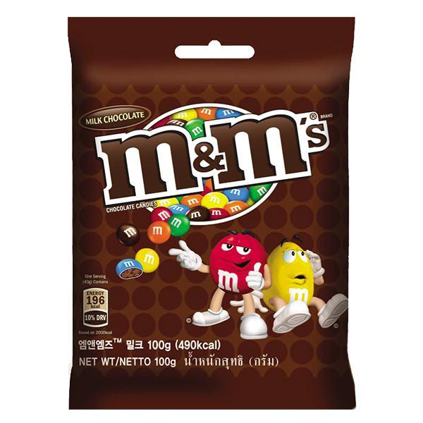 Kẹo Socola M&M's Milk 100G