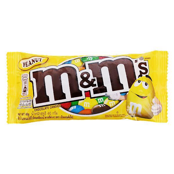 Kẹo Socola M&M's Peanut 40G