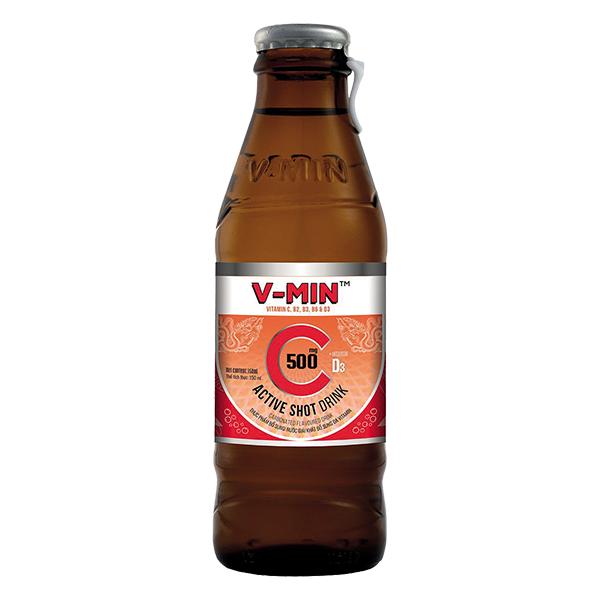 Nước Tăng Lực V-Min Đa Vitamin Chai 150Ml