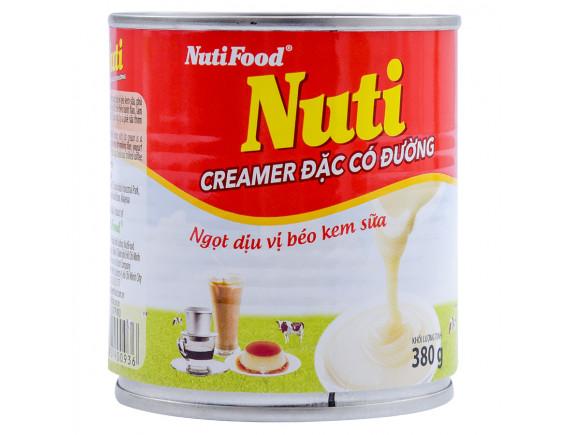 Sữa Đặc Có Đường Nuti Đỏ 380G