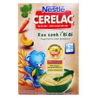 Bột Ăn Dặm Nestle Cerelac Rau Xanh & Bí Đỏ 200G
