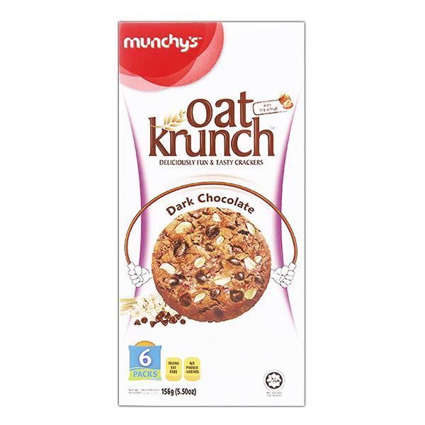 Bánh Yến Mạch Munchy's Oat Krunch Socola 156G